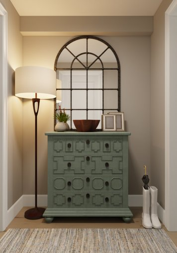 Online design Transitional Hallway/Entry by Lacie H. thumbnail
