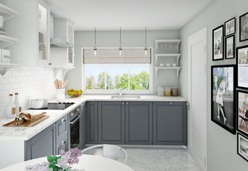 Online design Contemporary Kitchen by Aoife T. thumbnail