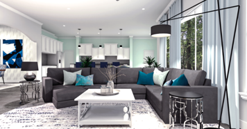 Online design Transitional Living Room by Camila C. thumbnail