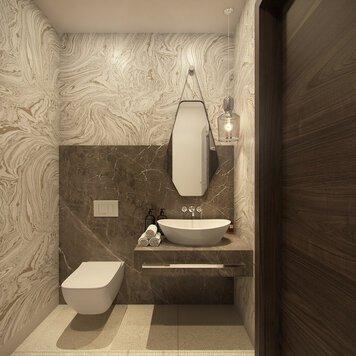 Online design Modern Bathroom by Rajna S. thumbnail