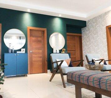 Online design Eclectic Living Room by Perla V. thumbnail