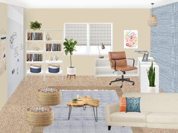 Online design Contemporary Home/Small Office by Amisha D. thumbnail