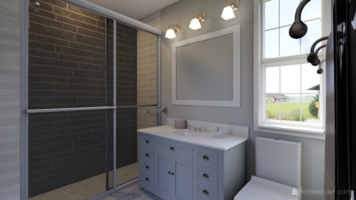 Online design Transitional Bathroom by Gargi K. thumbnail