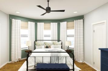 Online design Transitional Bedroom by Jennifer A.  thumbnail