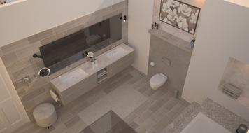 Online design Modern Bathroom by Chiara B. thumbnail