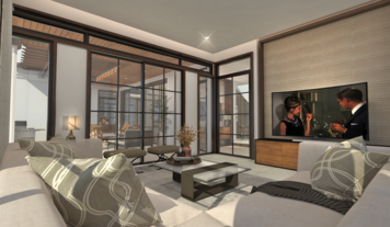 Online design Contemporary Living Room by Charmaine M. thumbnail