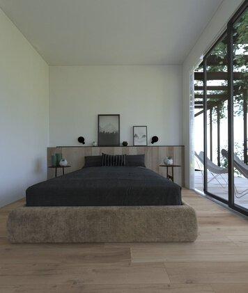 Online design Modern Bedroom by Marcu E. thumbnail