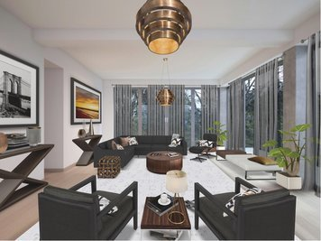 Online design Modern Living Room by Susan V. thumbnail