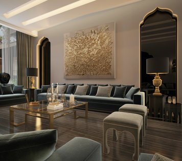 Online design Modern Living Room by Nathalie I. thumbnail