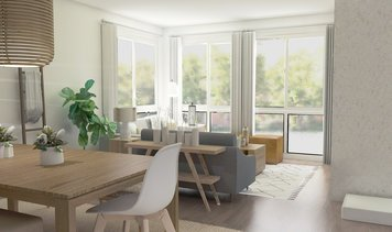 Online design Contemporary Combined Living/Dining by Zena A. thumbnail