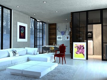 Online design Eclectic Living Room by Vasant L. thumbnail