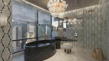 Online design Glamorous Bathroom by Andres S. thumbnail