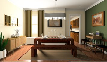 Online design Eclectic Dining Room by Noraina Aina M. thumbnail