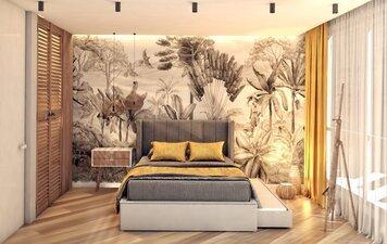 Online design Eclectic Bedroom by Monika K. thumbnail