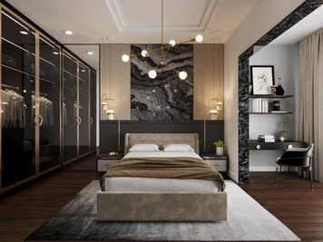 Online design Glamorous Bedroom by Aida A. thumbnail