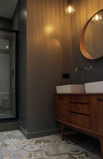 Online design Transitional Bathroom by Soha K. thumbnail