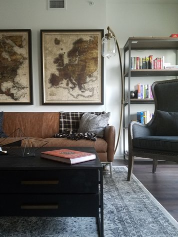 Online design Contemporary Living Room by Brianna S. thumbnail