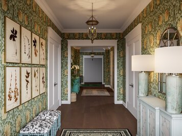 Online design Eclectic Hallway/Entry by Casey H. thumbnail