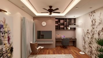 Online design Traditional Bedroom by Anup T. thumbnail
