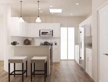Online design Transitional Kitchen by Eda B. thumbnail