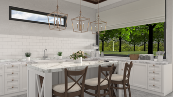 Online design Country/Cottage Kitchen by Aida A. thumbnail