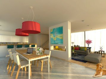 Online design Eclectic Dining Room by Jacinta l. thumbnail