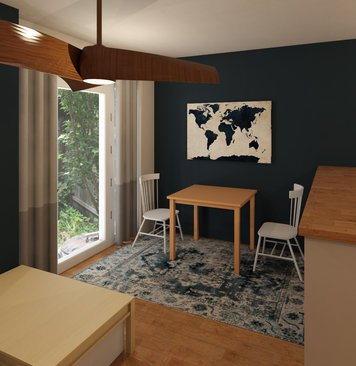 Online design Contemporary Dining Room by Brianna S. thumbnail