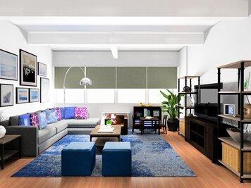 Online design Modern Living Room by Noraina Aina M. thumbnail