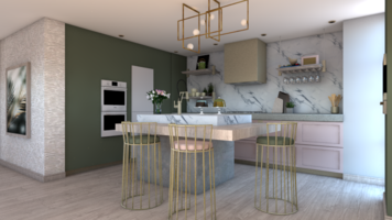Online design Contemporary Kitchen by Aamirah P. thumbnail
