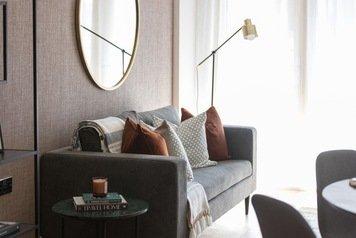 Online design Contemporary Living Room by Monika V. thumbnail