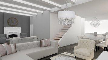 Online design Glamorous Living Room by Jessica S. thumbnail