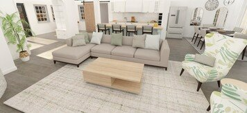 Online design Beach Combined Living/Dining by Gina A. thumbnail