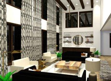 Online design Modern Living Room by Deidre B. thumbnail