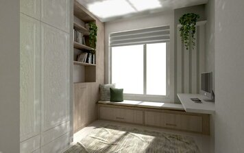 Online design Transitional Home/Small Office by Nazila A. thumbnail