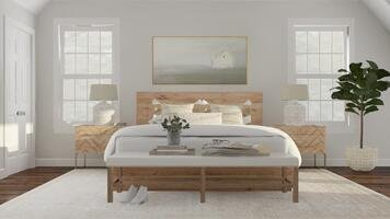 Online design Country/Cottage Bedroom by Katherine C. thumbnail