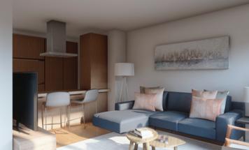 Online design Modern Living Room by Ana L. thumbnail
