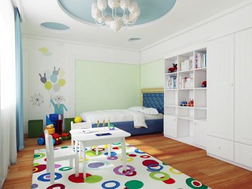 Online design Traditional Kids Room by Luba K. thumbnail