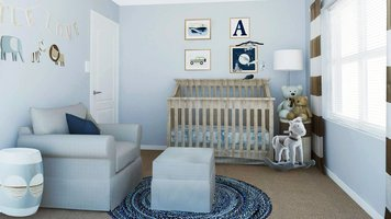 Online design Transitional Nursery by Selma A. thumbnail