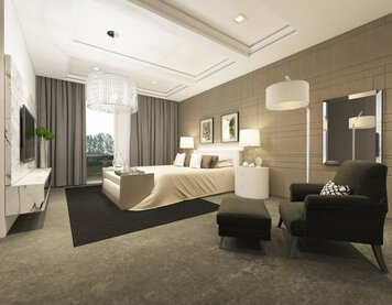 Online design Modern Bedroom by Aida A. thumbnail