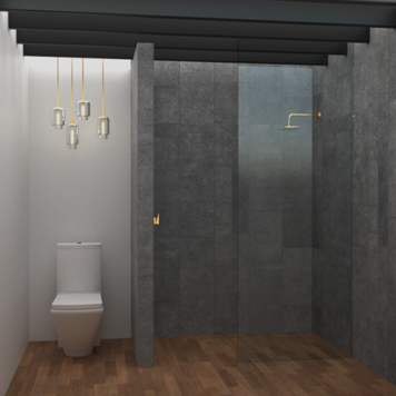 Online design Contemporary Bathroom by Betsy M. thumbnail