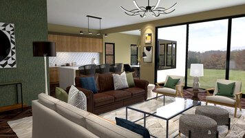 Online design Eclectic Living Room by Morgan W. thumbnail