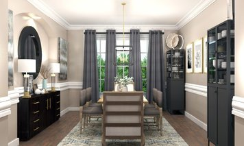 Online design Transitional Dining Room by Brittany J. thumbnail