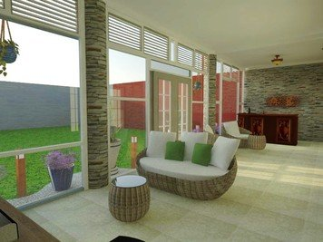 Online design Traditional Living Room by Samantha W. thumbnail