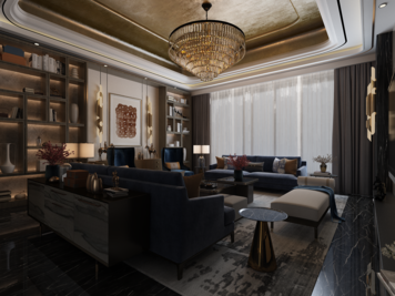 Online design Contemporary Living Room by Atif N. thumbnail