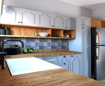 Online design Eclectic Kitchen by Eleni M. thumbnail