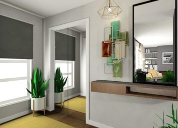 Online design Eclectic Hallway/Entry by Noraina Aina M. thumbnail
