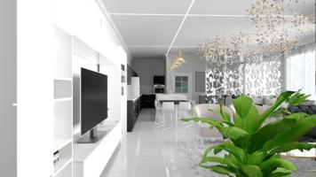 Online design Modern Living Room by Rana S. thumbnail
