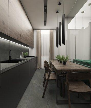 Online design Modern Kitchen by Ioana A. thumbnail