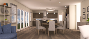 Online design Contemporary Dining Room by Theresa W. thumbnail