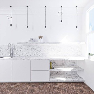 Online design Contemporary Kitchen by Katarina K. thumbnail